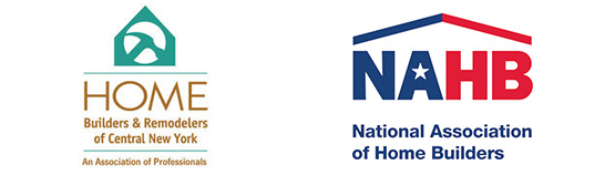 We are members of the National Home Builders Association and the CNY Home Builders Association